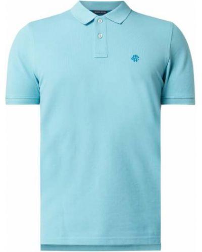 T-shirt bawełniana - turkusowa Mcneal