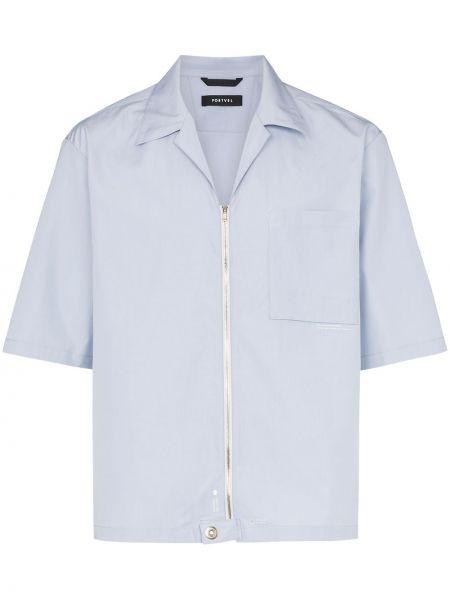Koszula z kołnierzem szeroki Nulabel