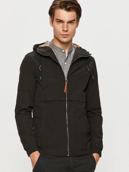 Куртка с капюшоном - черная Jack & Jones