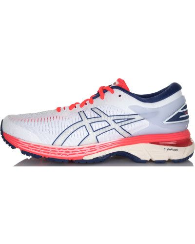 Белые кроссовки для бега Asics