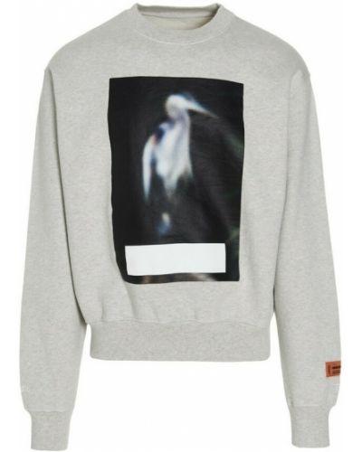 Szary sweter Heron Preston