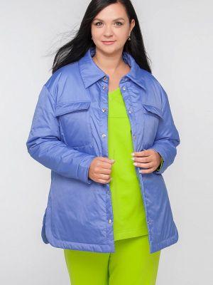 Утепленная куртка - голубая Лимонти
