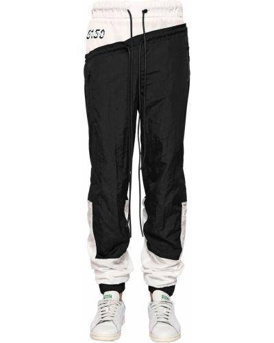 Czarne spodnie z nylonu Bmuet(te)