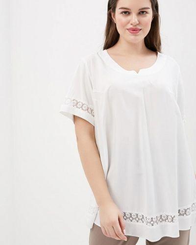 Белая блузка Silver String