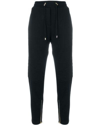 Спортивные брюки с отворотами Balmain