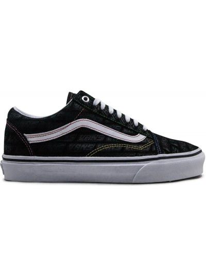 Кеды на шнуровке - черные Vans