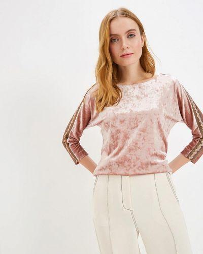 Блузка с длинным рукавом розовая Grafinia