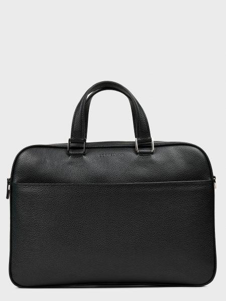 Кожаная сумка - черная Corneliani
