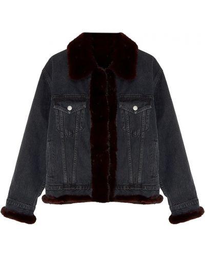 Куртка с капюшоном джинсовая свободная Milangel
