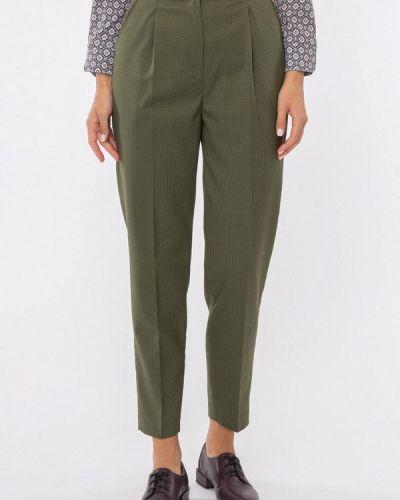 Прямые брюки - зеленые Vladi Collection