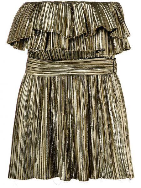 Вечернее платье макси с завышенной талией Saint Laurent