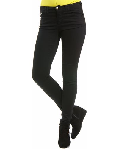Хлопковые джинсы - черные Armani Jeans