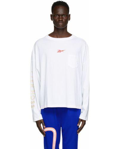 Biała koszulka z długimi rękawami Reebok By Pyer Moss