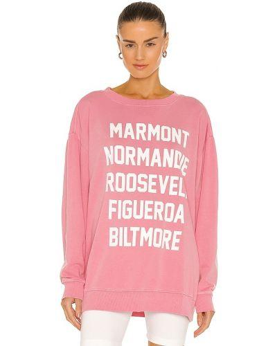 Хлопковый свитшот - розовый Wildfox Couture