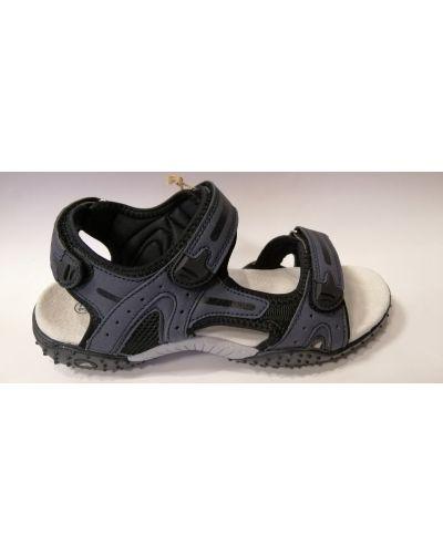 Кожаные сандалии - синие American Club