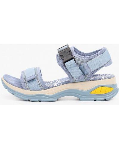 Синие текстильные сандалии Francesco Donni