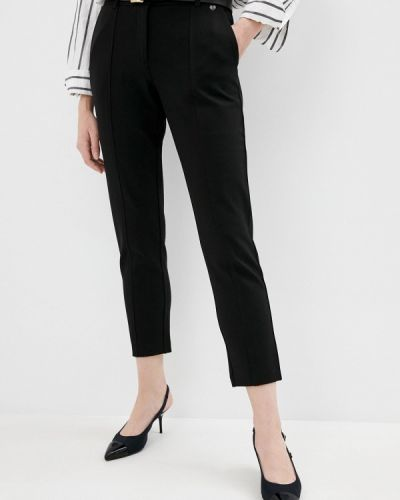 Повседневные черные брюки Twinset Milano