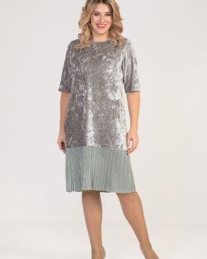 Платье плиссированное платье-сарафан Luxury