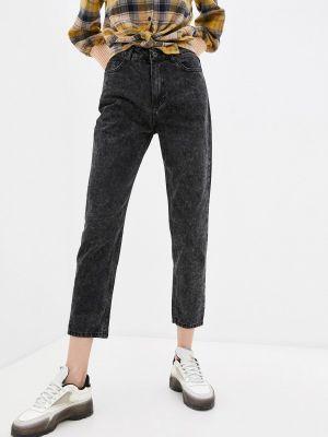 Черные зимние джинсы Savage