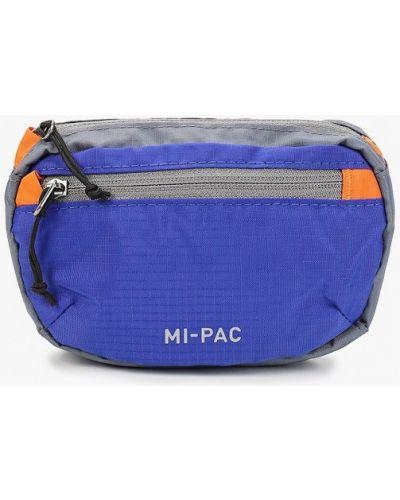 Текстильная поясная сумка - синяя Mi-pac