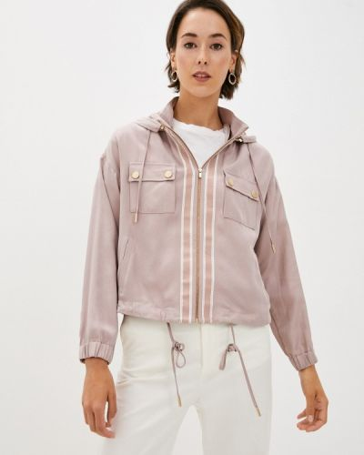 Облегченная розовая куртка Lusio
