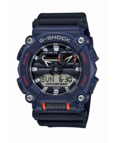 Синие часы Casio
