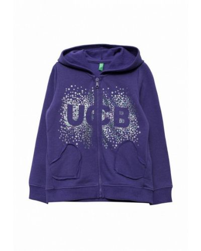 Фиолетовая толстовка United Colors Of Benetton