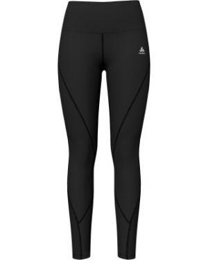Облегающие компрессионные черные брюки для йоги Odlo