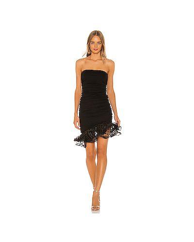 Платье мини сетчатое шелковое Nbd