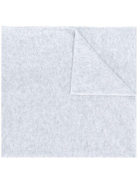 Облегченная серый кашемировый шарф вязаный Liska