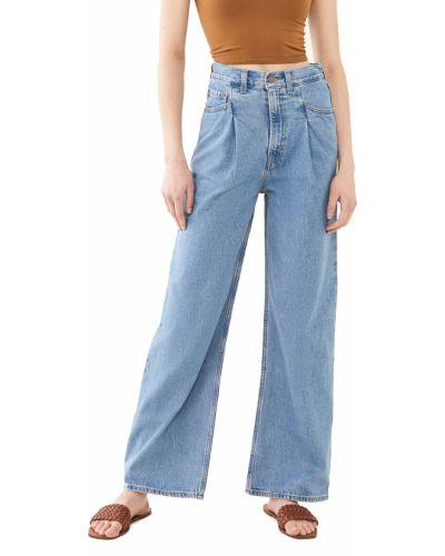 Свободные синие широкие джинсы стрейч Levi's®