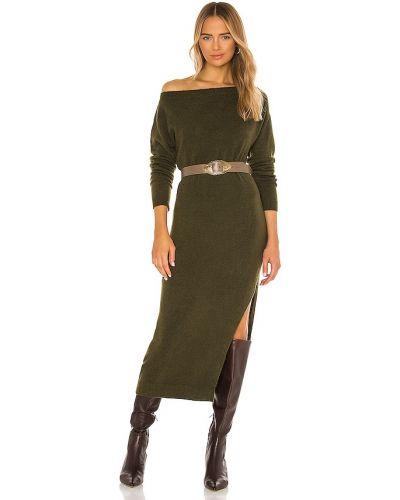 Światło akryl zielony dżinsowa sukienka na pięcie L'academie