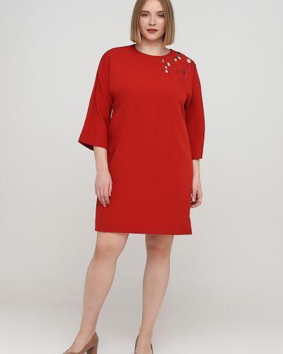 Платье с вышивкой - красное Cop.copine