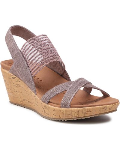 Sandały casual - brązowe Skechers