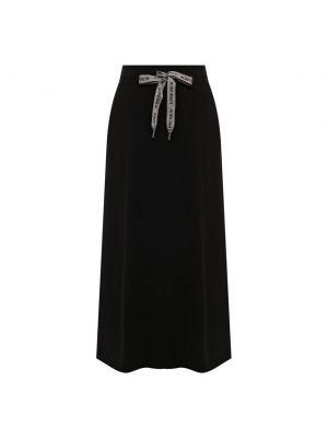 Хлопковая юбка - черная 5preview