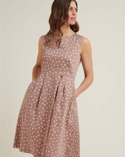 Платье - коричневое Daniel Hechter