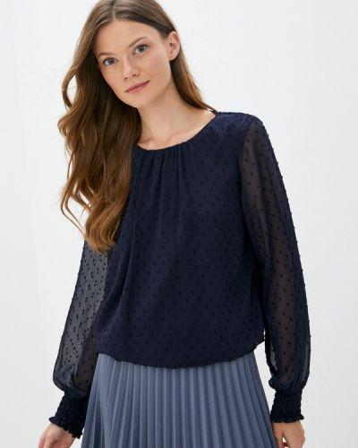 Синяя блузка с длинными рукавами Wallis