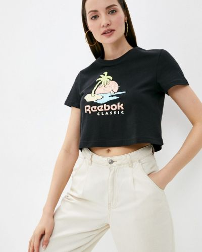 Черная футболка Reebok Classic
