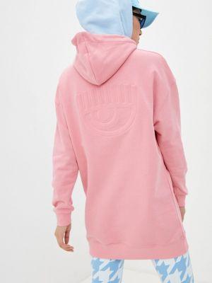 Розовая худи Chiara Ferragni Collection