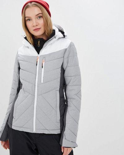 Горнолыжная куртка весенняя серая Icepeak