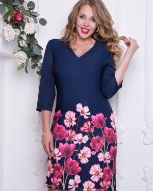 Платье футляр с цветочным принтом Diolche