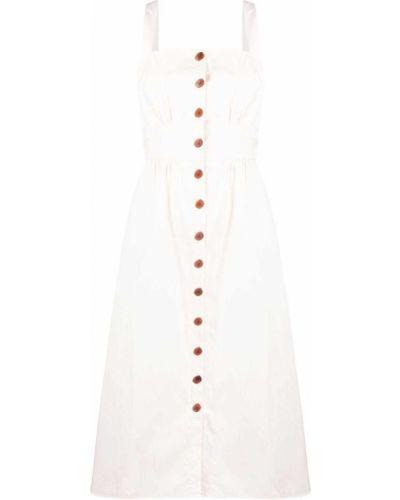 Хлопковое платье - белое Ba&sh
