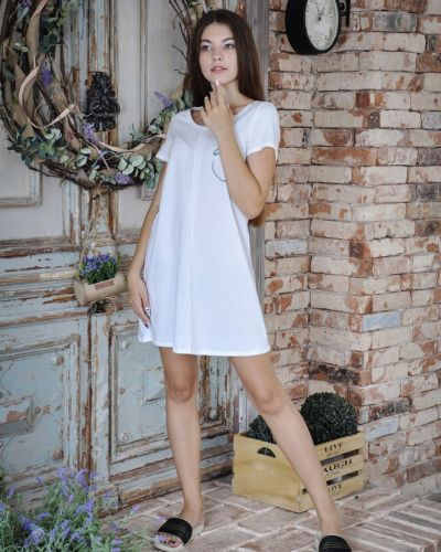 Летнее платье с кокеткой Lovitton