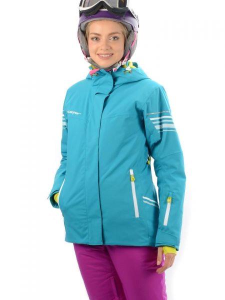 Куртка горнолыжная с капюшоном - бирюзовая Stayer