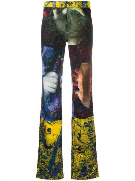 Spodnie z wysokim stanem z kieszeniami elastyczne Ottolinger