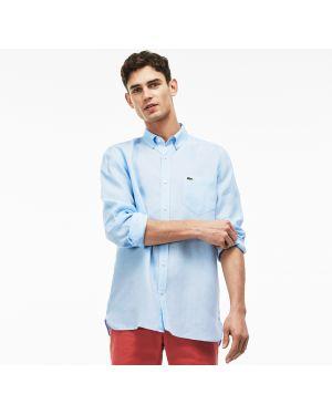 Рубашка с карманами с логотипом Lacoste