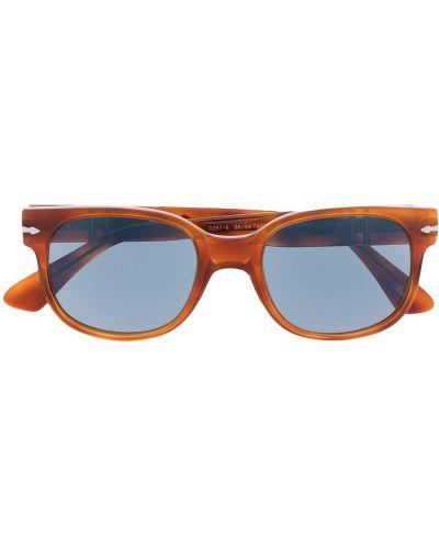Niebieskie okulary srebrne Persol