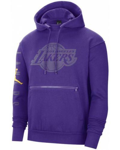 Bluza z kapturem - fioletowa Nike