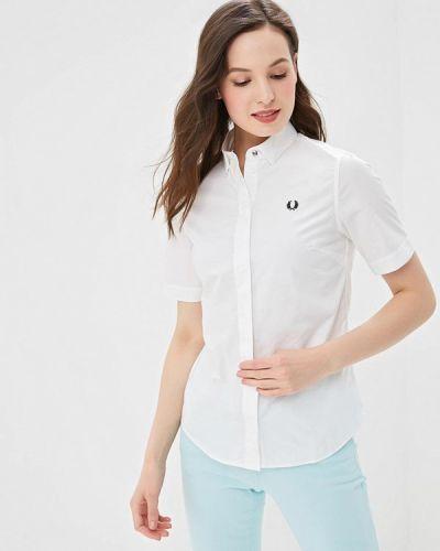 Рубашка с коротким рукавом белая Fred Perry