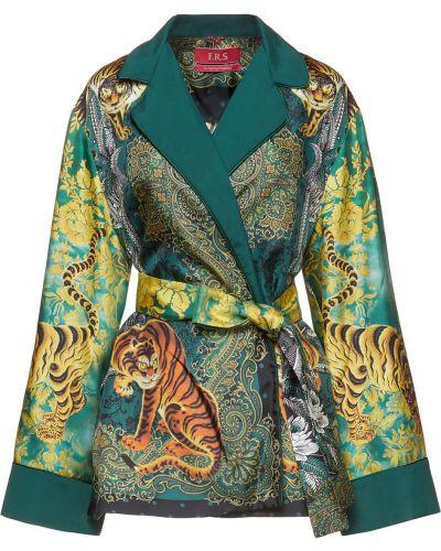 Текстильная зеленая куртка F.r.s. For Restless Sleepers